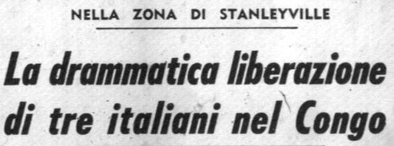 Corrispondenza pubblicata sul Corriere della Sera del 5.12.1964